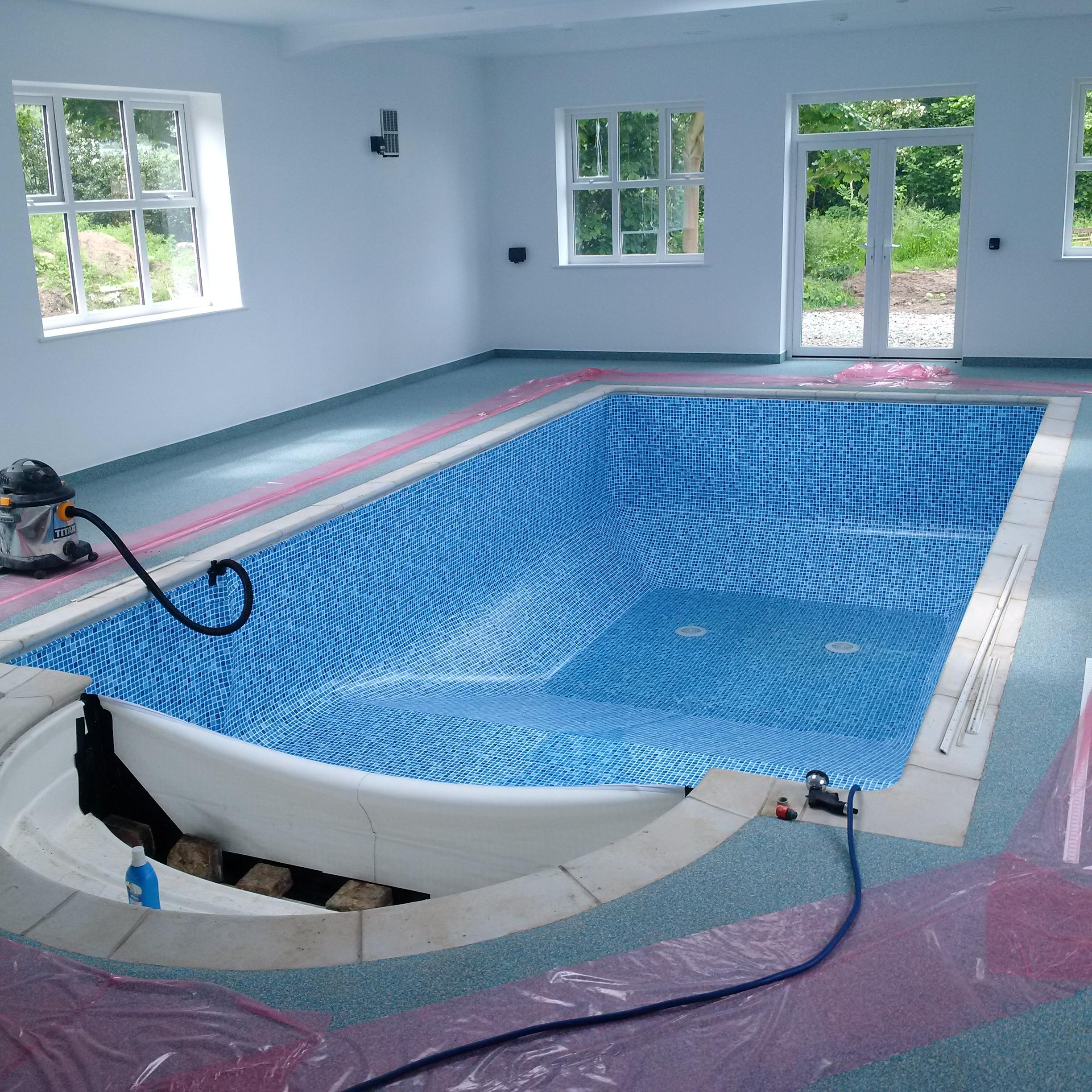 complete indoor pool refurb
