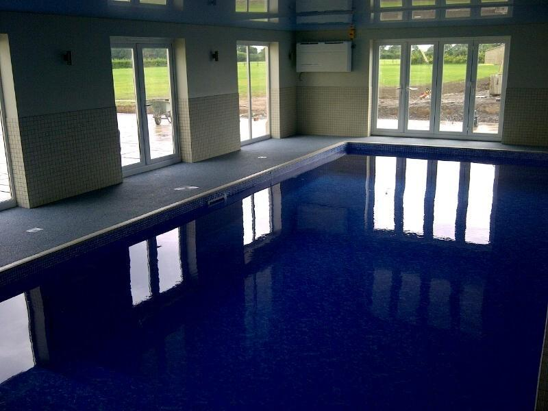 indoor pool refurb
