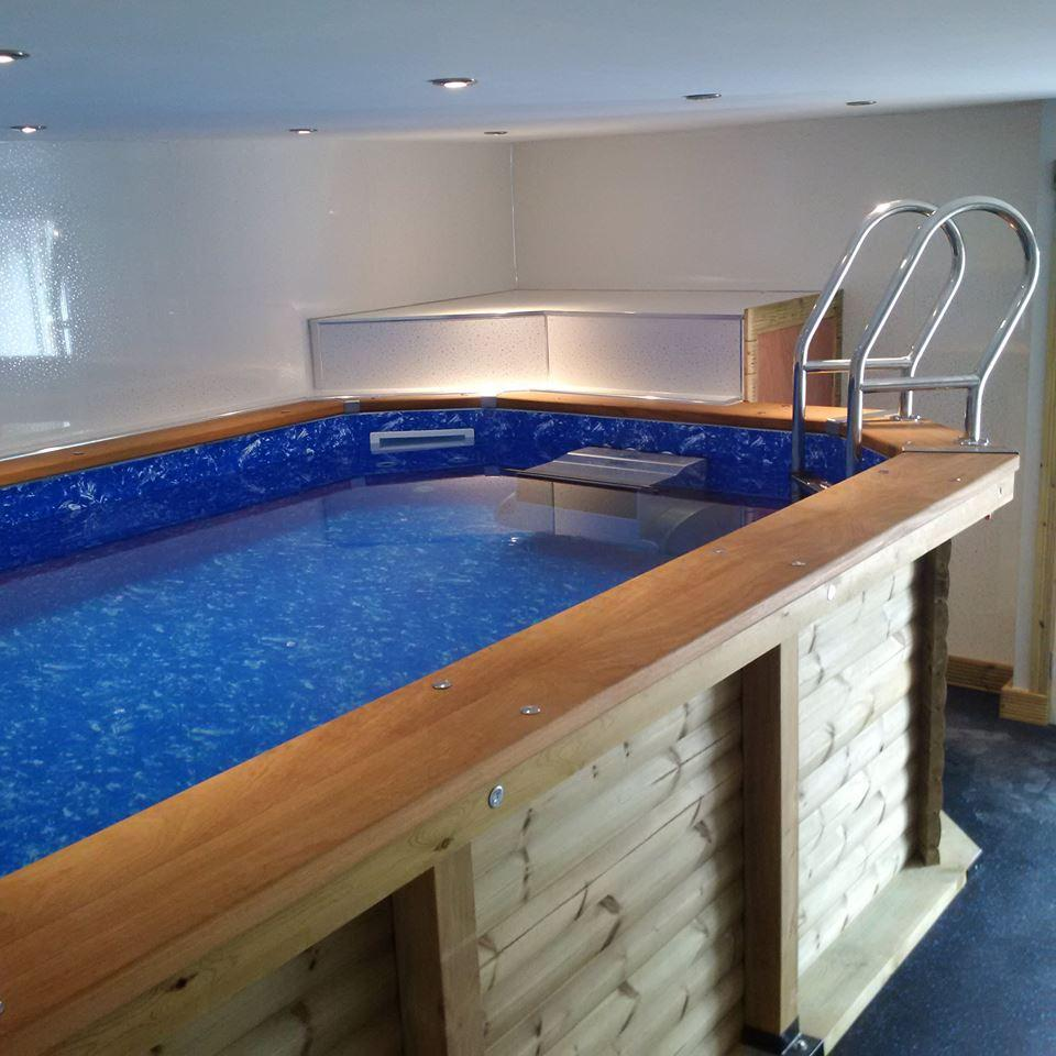 Certikin Wooden Pool with Fastlane