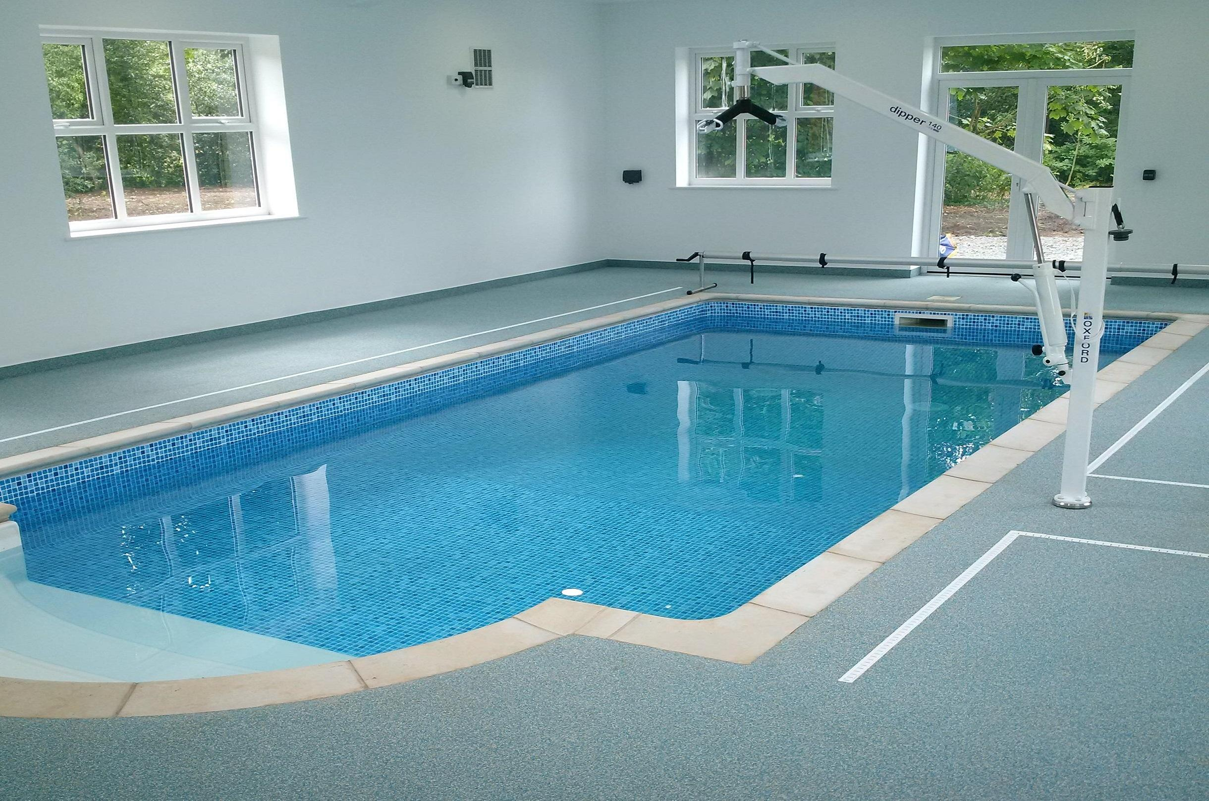 Complete indoor pool refurb, swimming pool maintenance, hot tub ...