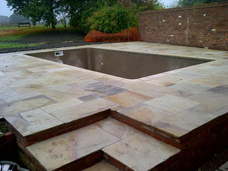 New build pool, Shropshire