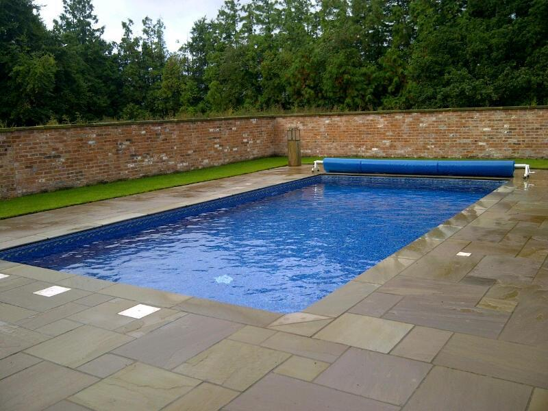 Outdoor pool, Shropshire