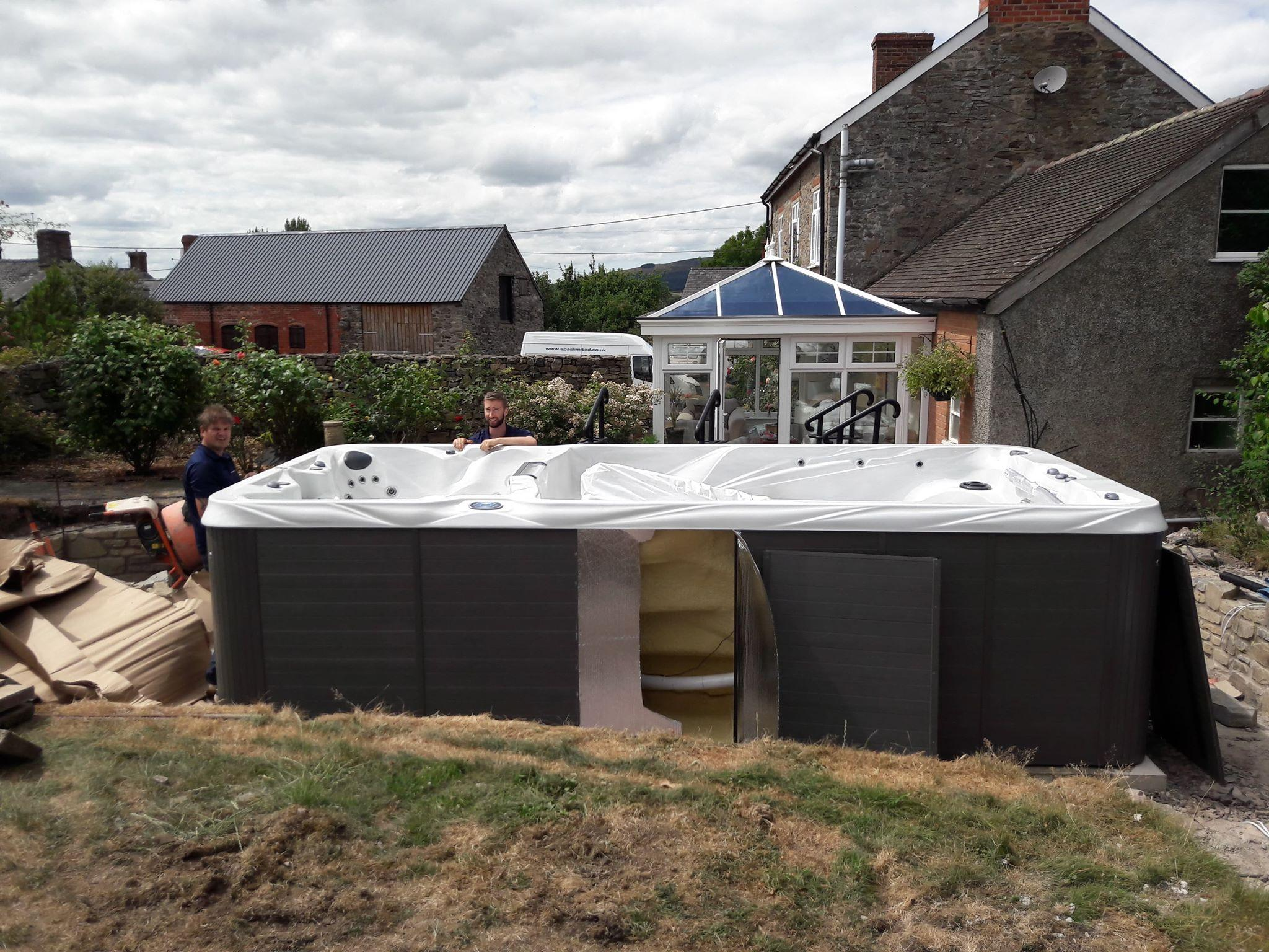 Swim Spa Installation, Shropshire